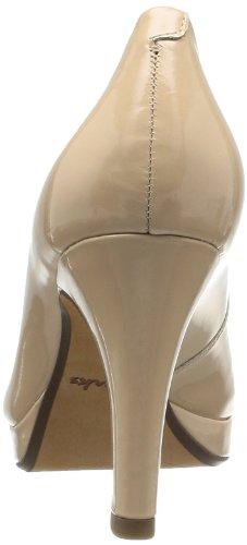 Clarks Anika Kendra, Escarpins femme Beige (Nude Patent)