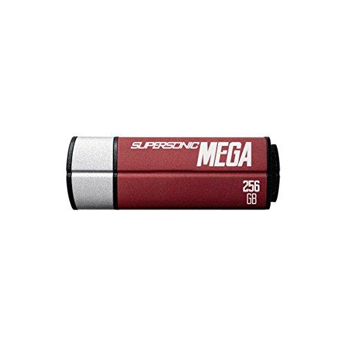 Patriot Memory Supersonic Mega 256GB 256GB USB 3.0 (3.1 Gen 1) Conector USB Tipo A Negro, Rojo, Plata unidad flash USB - Memoria USB (256 GB, 3.0 (3.1 Gen 1), Conector USB Tipo A, 380 MB/s, Tapa, Negro, Rojo, Plata)