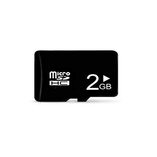 2GB Micro SD Card Speicherkarte Mini SD-Karte TF-Karte für Smartphone-Kamera Topker - High Speed 2 Gb Sd-karte