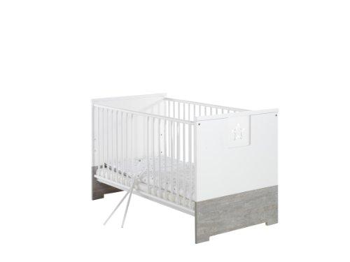 Schardt 045802202 Kombi-Kinderbett Eco Star, 70 x 140 cm