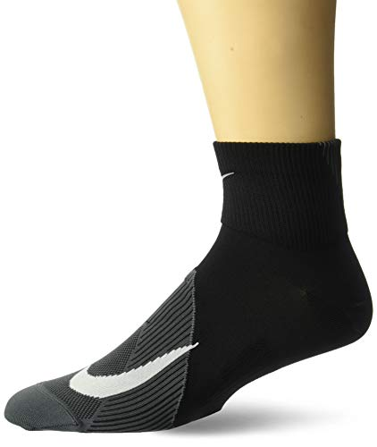 Nike Unisex U Nk Spark Ltwt Ankle Socks , black/dark grey/White , 44-45.5 EU -