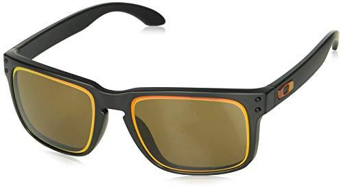 Oakley Herren Holbrook OO9102 Sonnenbrille, Schwarz (Negro/Mate), 0