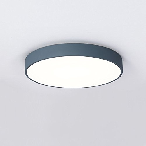 Plafonnier Ranex 6000.543 Mia 40 Cm - Bleu (Couleur : A, Taille : Two-Color light-40 * 6cm)