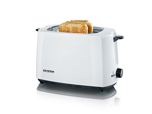 SEVERIN AT 2286 Automatik Toaster, 700 W, weiß/schwarz