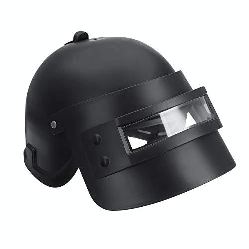 WCHAOEN Spiel Cosplay Mask Level 3 Requisiten Cap Helm Black Halloween Christmas Player Ersatzteile