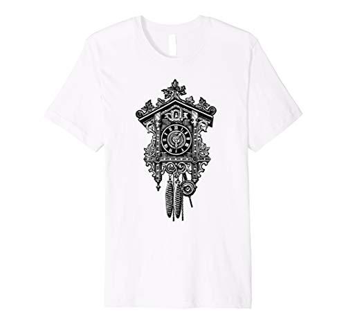 Preisvergleich Produktbild Kuckucksuhr Shirt Uhren Collector Coo Coo Bird T-Shirt