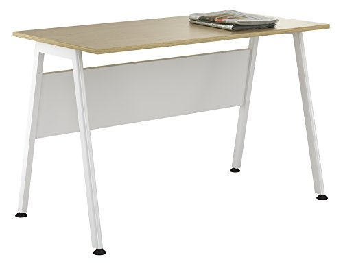 Kit Out My Office UCLIC A Frame Desk, Metal, Natural Oak, 1200 mm