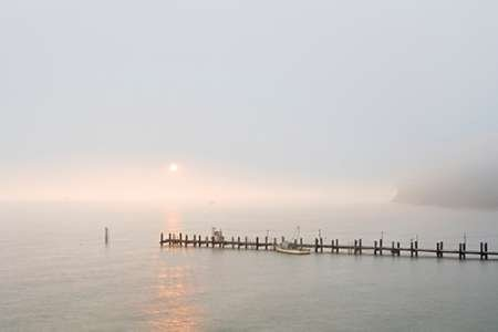 Feeling at Home Feelingathome-Leinwand-Bild-Antique-Pier-39-cm62x96-Kunstdruck-auf-Leinwand