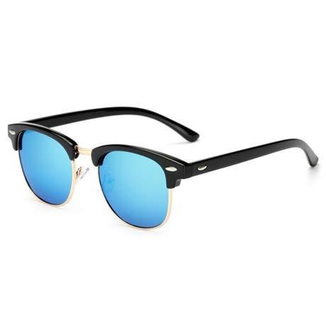ZHAS High-End-Brille Polarisierte Sonnenbrille Frauen Retro Männer Sommer Stil Sonnenbrille Niet Rahmen Bunte Beschichtung Shades Personalisierte High-End-Sonnenbrille