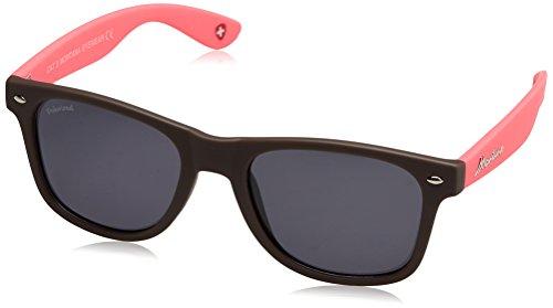 Gafas de sol de Montana Gafas Sunoptic MP40B en marrón incluyendo bolsa de tela