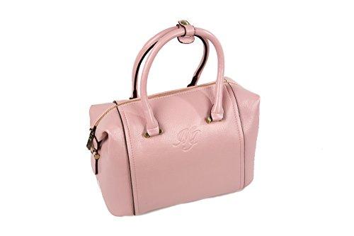 MJ Bags Modell Lea Damen Handtasche Rosa Pink Marken Handtaschen Elegant Taschen Reissverschluss Frauen Handtaschen Schultertasche Umhängetasche -