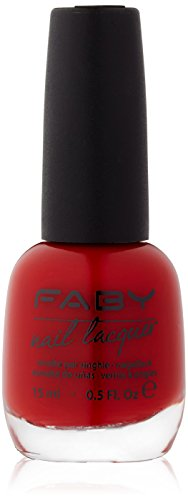 Faby Nagellack Red, 15 ml