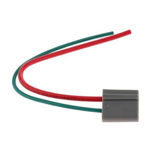perfk Dual-Pigtail-Kabelbaum-Steckverbinder für Elektronische Tachometer 12V Dual-pigtails
