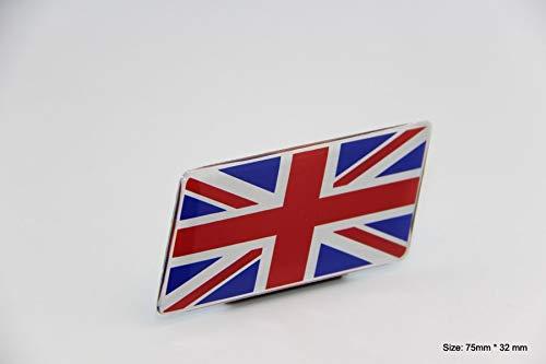 B331 Flagge England England Britische Flagge Emblem 3D Front Grill Aufkleber Auto Auto Mobile
