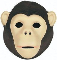 Wild Republic 63125 - Maske für Kinder und Erwachsene,Schimpanse, 21 x 19 cm