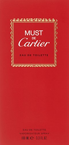 Cartier Must de Cartier, Eau de Toilette, 1er Pack (1 x 100 ml)