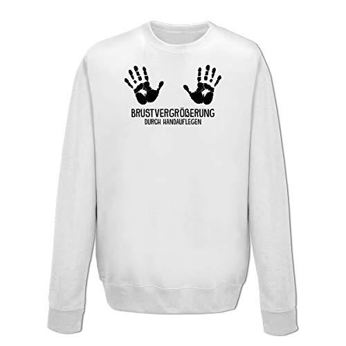 Shirtcity Brustvergrößerung durch Handauflegen Sweatshirt by