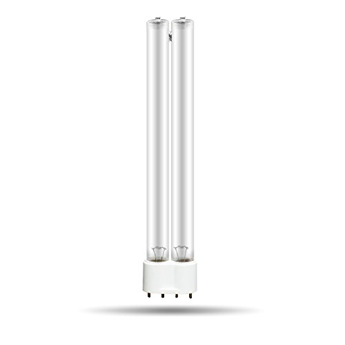 everfarel UV-Sterilisatoren uv Lampe teich,UVC klärer teichklaerer (18W,2G11)