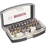Bosch Professional 32-Delige Schroevendraaierbitset (Extra Harde Bits, Accessoire voor Schroefboormachine en Schroevendraaier