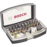 Bosch Professional 2607017319 Set de 32 Unidades para atornillar, 0 W, 0 V
