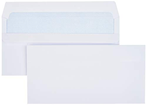 AmazonBasics Self-Seal DL Envelo...