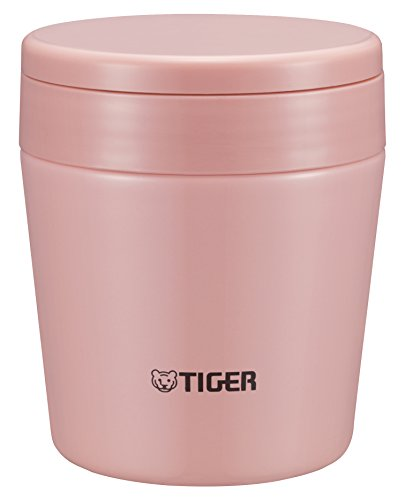 TIGER thermos soup cup 0.25L cream pink MCL-A025-PC by Tiger Cream Soup Cup