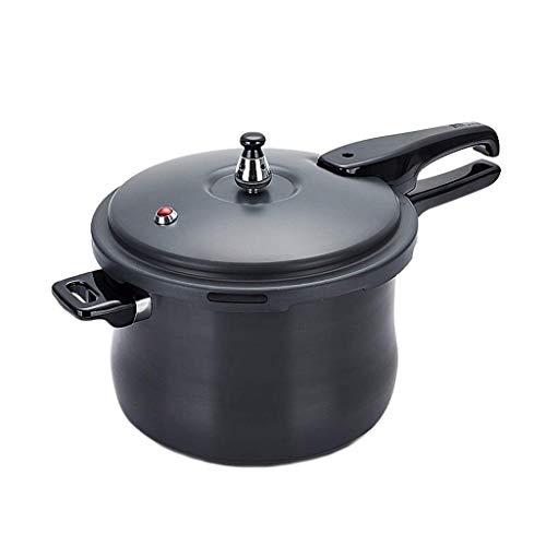 ZLDGYG Utensilios de Cocina de Acero Inoxidable Aptos para el lavaplatos y ollas a presión, Libres de cadmio, Negro (Size : 6L)