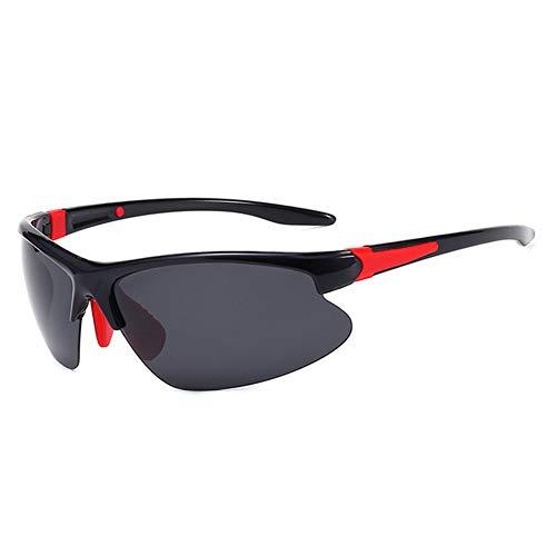 Liamostee Männer Polarisierte Gläser Ultraleicht Winddicht UV Schutz Angeln Radfahren Sport Sonnenbrille