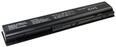 Akku für HP Pavilion DV9000, DV9050, DV9100, DV9105, DV9200, DV9215, DV9255, DV9300, DV9400, DV9410, DV9500, DV9575, DV9599, DV9600, DV9615, DV9700, DV9715 wie HSTNN-LB33, HSTNN-UB33, 4.400 mAh