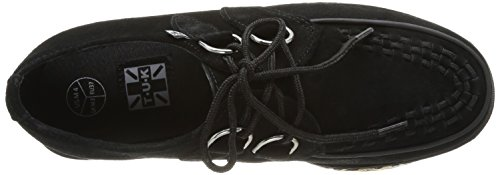 TUK Yo Creeper T.U.K. Wraps, Baskets mode femme Noir (Black/Tan)