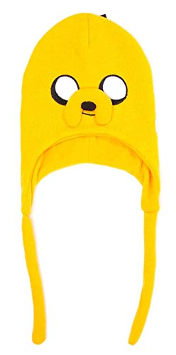 Adventure Time Beanie Hat Jake Laplander New Official Yellow a836bcda3ef1
