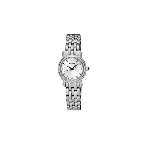 Seiko Reloj Mujer Clásico Acero Cristales