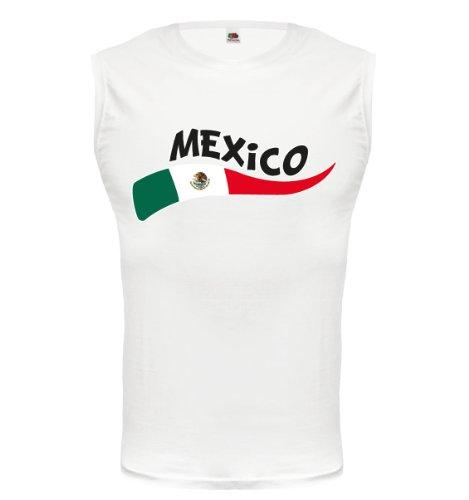 Tank Top Mexiko-Wave-XXL-White-z-direct