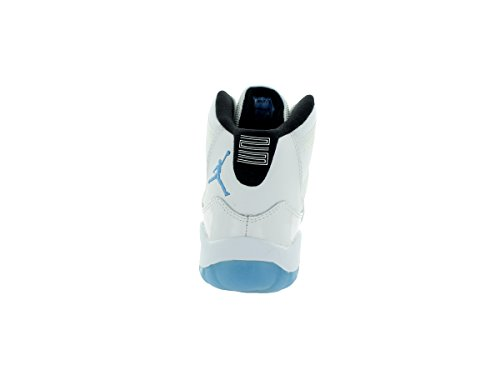 Nike Jordan 11 Retro Bp, Stivaletti Bambino Bianco / Blu / Nero (White / Legend Blue-Black)