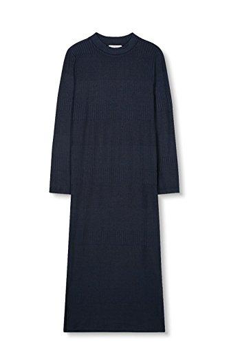 edc by ESPRIT Damen Kleid 027cc1e008 Blau (Navy 400)