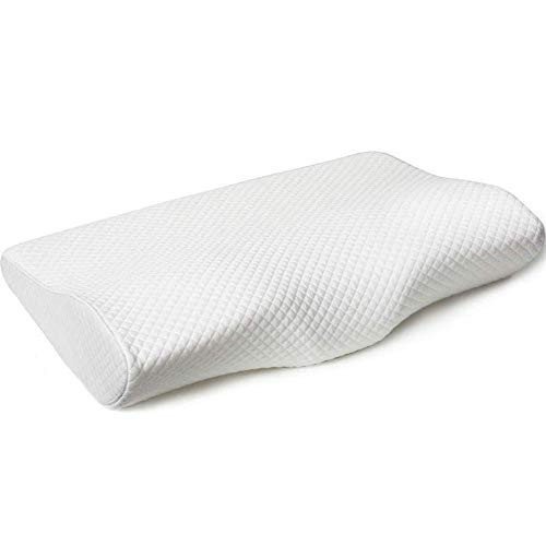 Y.Cushion Memory-Schaum-Kissen orthopädische Schlafkissen Ergonomischer Nackenkissen für