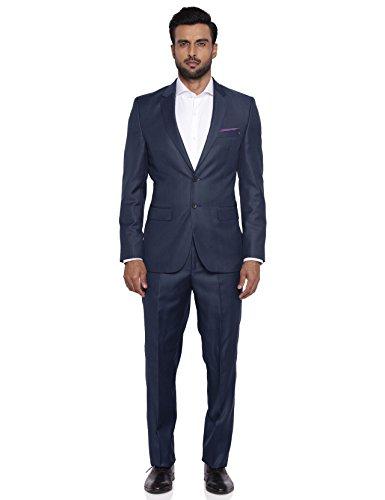 Raymond Dark Petrol Polyester Blend Suit