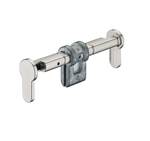 JUVA Blindzylinder montieren Blind-Schließzylinder Montage Einsteck-Zylinder einbauen - H6152 | Zink vernickelt matt | für Türdicken 35-154 mm | 1 Stück