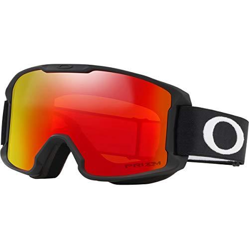 Oakley Line Bergmann Youth Asian Fit Snow Goggle, matt schwarz, Small, Prizm Torch Iridium Lens