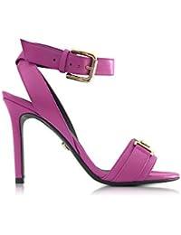 Versace Femme DSR364NDVT2KKBUOC Violet Cuir Sandales