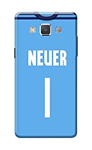 Samsung A5 Back Cover, Premium Quality Designer Printed 3D Lightweight Slim Matte Finish Hard Case Back Cover for Samsung Galaxy A5 by Tamah