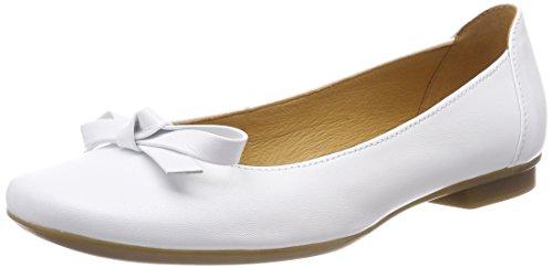 Gabor Shoes Damen Casual Geschlossene Ballerinas, Weiss, 38 EU