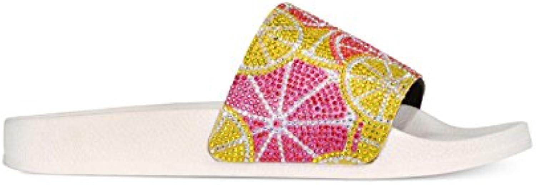 d05e7ef7fe1b INC International Concepts Womens Peymin3 Fabric Open Toe Toe Toe Casual  Slide Sandals B079JG7F24 Parent 8448ea