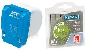 Rapid Agrafes en cassette, pour agrafeuse électrique 5050e