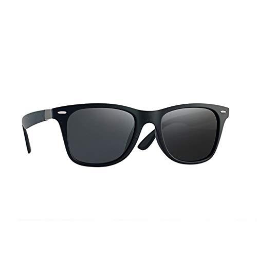 MOIKA Sonnenbrille Pilotenbrille Vintage Klassisches Quadrat Verspiegelt Brille Polarisiert 100% UV400 Schutz Mode Metall Ultraleicht Rahmen Verspiegelt Brille Damenbrillen