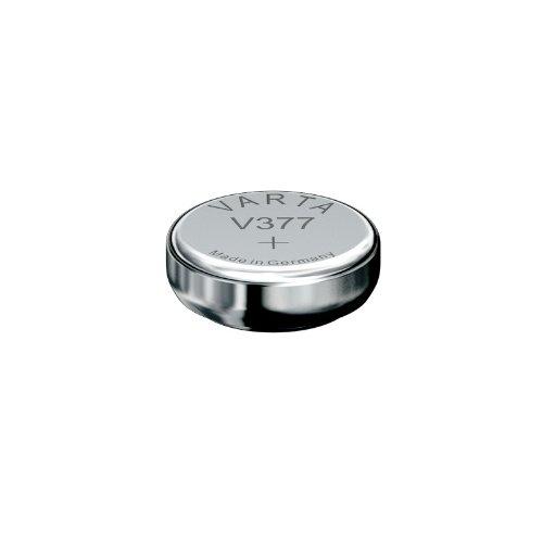 varta-set-of-2-blister-packs-of-1-x-silver-oxide-watch-battery-sr66-v377-volt