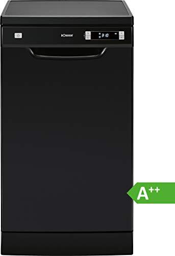 Bomann GSP 863 Lave-vaisselle encastrable/A++ / 211 kWh/an / 2520 lit/an/Départ différé/Noir