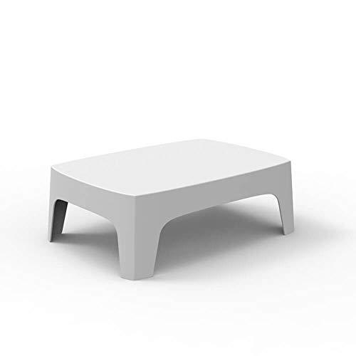 Vondom Solid Table Basse pour l'extérieur Blanche