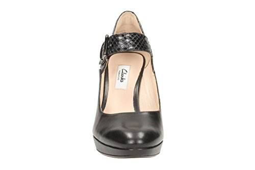 Clarks Kendra Gaby Womens Wide Mary Jane Shoes 5 Black