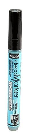 Pebeo Deco Marker, Light Blue, 1.2 mm